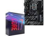 Core i7-9700 BOX品 + Z390 Phantom Gaming 4