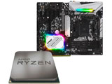 AMD Ryzen 5 3500 + B450 Steel Legend セット