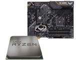 AMD Ryzen 5 3500 + TUF B450-PRO GAMING セット