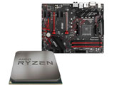 AMD Ryzen 5 3500 + B450 GAMING PLUS MAX セット