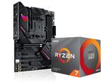 Ryzen 7 3700X BOX品 + ROG STRIX B550-F GAMING セット