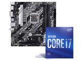 Intel Core i7-10700F + PRIME H470M-PLUS セット