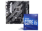 Intel Core i9-10900F + PRIME H470M-PLUS セット