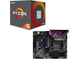 Ryzen 5 2600 BOX品 + B450 GAMING PLUS MAX セット