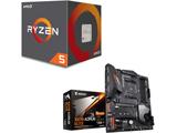 Ryzen 5 2600 BOX品 + X570 AORUS ELITE セット