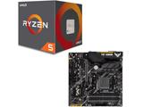 Ryzen 5 2600 BOX品 + TUF B450M-PLUS GAMING セット