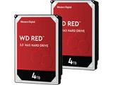 【数量限定セット】 WD Red WD40EFAX-RT [4TB/3.5インチ内蔵HDD/ SATA]×2個セット