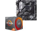 Ryzen 5 3600X BOX品 + PRIME B550M-A