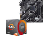 Ryzen 5 3600X BOX品 + PRIME B550M-K