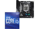 Core i5-10400 + ROG STRIX Z490-I GAMING