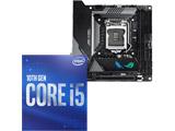 Core i5-10500 + ROG STRIX Z490-I GAMING