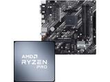 Ryzen 5 PRO 4650G MPK バルク品+マザーボード PRIME B550M-K