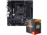 Ryzen 5 5600X[CPUクーラー付属]+TUF GAMING B550M-PLUS(WI-FI)