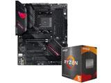Ryzen 5 5600X[CPUクーラー付属]+ROG STRIX B550-F GAMING(WI-FI)