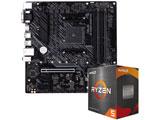 Ryzen 5 5600X[CPUクーラー付属]+TUF GAMING A520M-PLUS