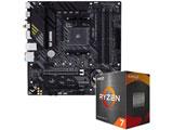 Ryzen 7 5800X[CPUクーラー別売]+TUF GAMING B550-PLUS