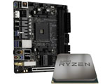 AMD Ryzen 5 3500 With Wraith Stealth cooler+Fatal1ty B450 Gaming-ITX/ac