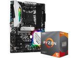 Ryzen 5 3600 BOX品+B450 Steel Legend