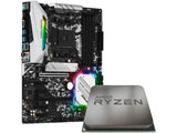 AMD Ryzen 5 3500 With Wraith Stealth cooler+B450 Steel Legend
