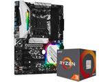 AMD Ryzen 3 3100 With Wraith Stealth cooler+B450 Steel Legend