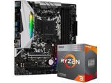 Ryzen 3 3200G BOX品+B450M Steel Legend