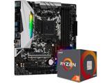 AMD Ryzen 3 3100 With Wraith Stealth cooler+B450M Steel Legend