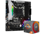 AMD Ryzen 5 3600XT With Wraith Spire cooler+B450M Steel Legend