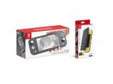 Nintendo Switch Lite グレー + Nintendo Switch Liteフリップカバー(画面保護シート付き)