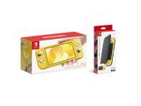 Nintendo Switch Lite イエロー + Nintendo Switch Liteフリップカバー(画面保護シート付き)