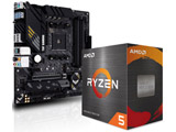 Ryzen 5 5600X[CPUクーラー付属] + B550M-PLUS