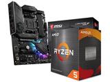 Ryzen 5 5600X[CPUクーラー付属] + MPG B550 GAMING PLUS