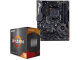 Ryzen 9 5900X[CPUクーラー別売] + TUF GAMING X570-PLUS
