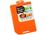 SILTEQ 丸めて除菌 キレイ好きなまな板 オレンジ 90045OR