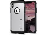 iPhone XS Max 6.5 Case Slim Armor Satin Silver 065CS25159
