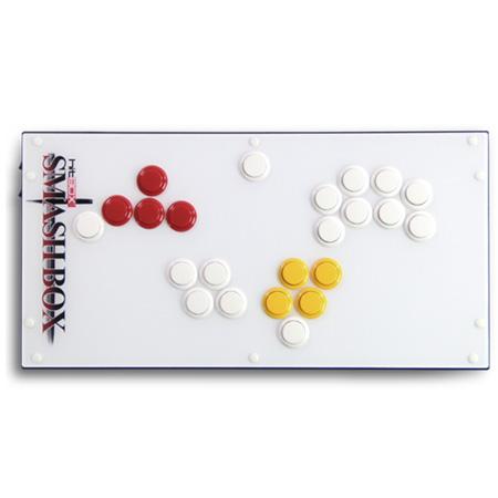 SMASH BOX ゲームキューブ/PC用レバーレスアーケードコントローラー [GC/PC]