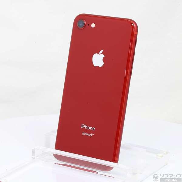 中古】iPhone8 64GB プロダクトレッド MRRY2J/A docomoロック解除SIM ...