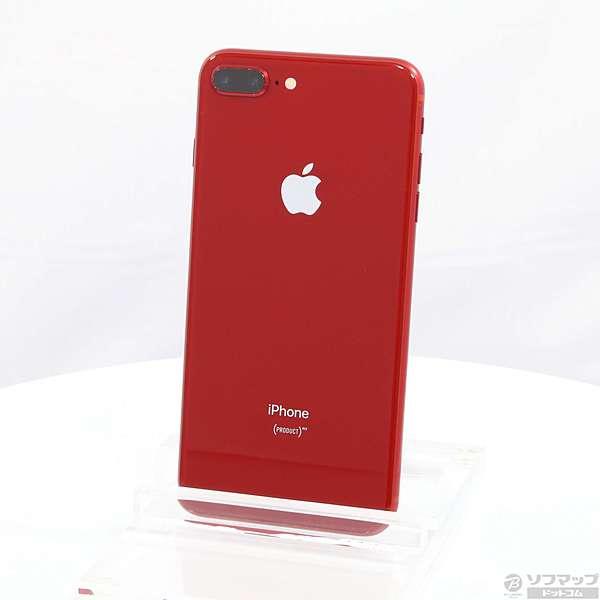 中古】iPhone8 Plus 64GB プロダクトレッド MRTL2J/A SIMフリー ...