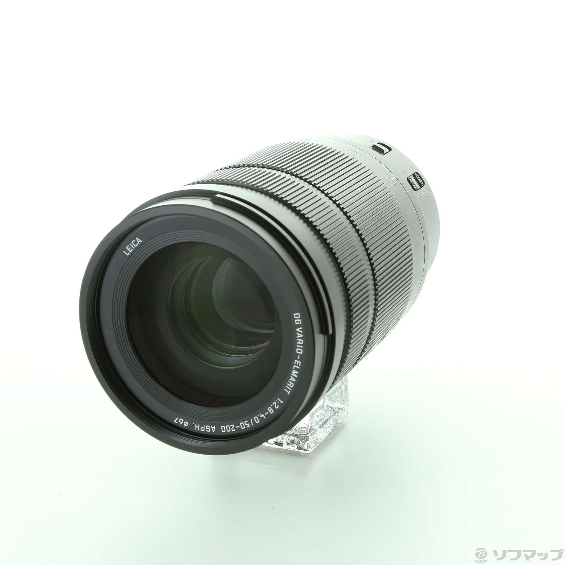 (中古)Panasonic LEICA DG VARIO-ELMARIT 50-200mm / F2.8-4.0 ASPH. / POWER O.I.S.(262-ud)(交換レンズ)
