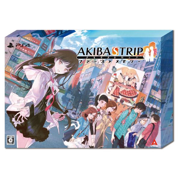 AKIBA'S TRIP ファーストメモリー 初回限定版 10th Anniversary Edition 【PS4ゲームソフト】