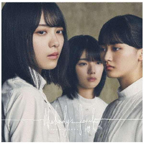 櫻坂46/ Nobody's fault CD+Blu-ray盤TYPE-A CD
