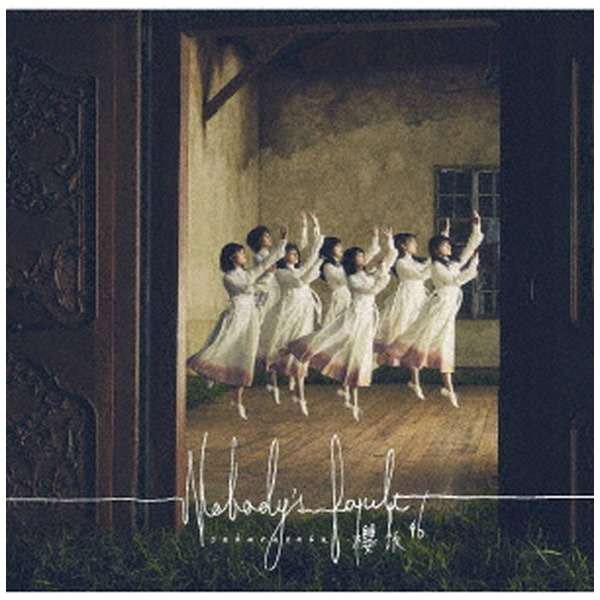櫻坂46/ Nobody's fault CD+Blu-ray盤TYPE-C CD