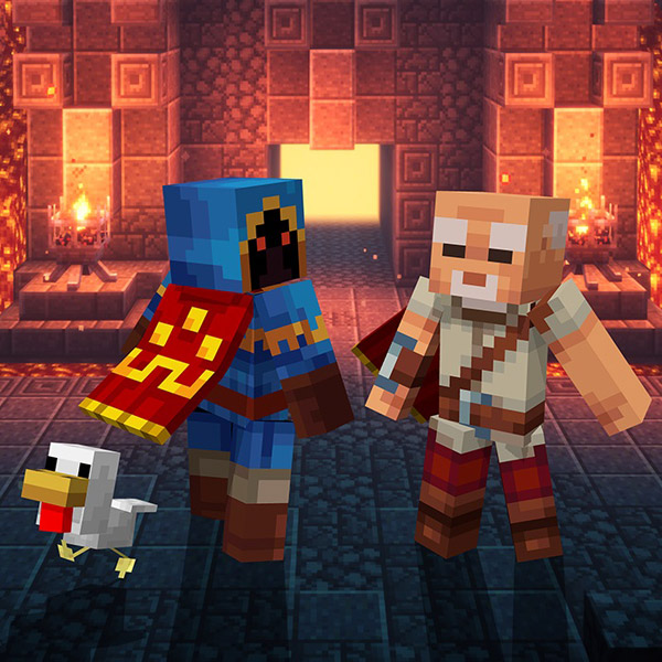 Minecraft Dungeons Hero Edition 【Xbox Oneゲームソフト】_1