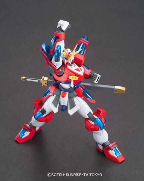Bandai Model Kit HGBF 1//144 Build Burning Gundam Build Fighters Try From USA