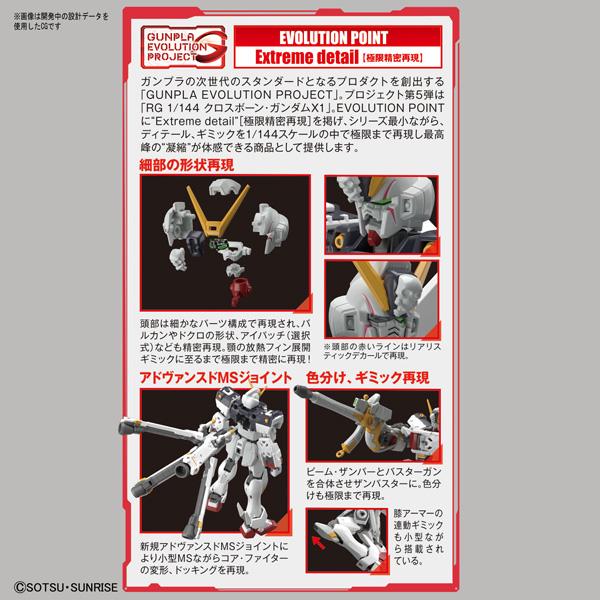 RG 1/144 クロスボーン・ガンダムX1【機動戦士クロスボーン・ガンダム】_3