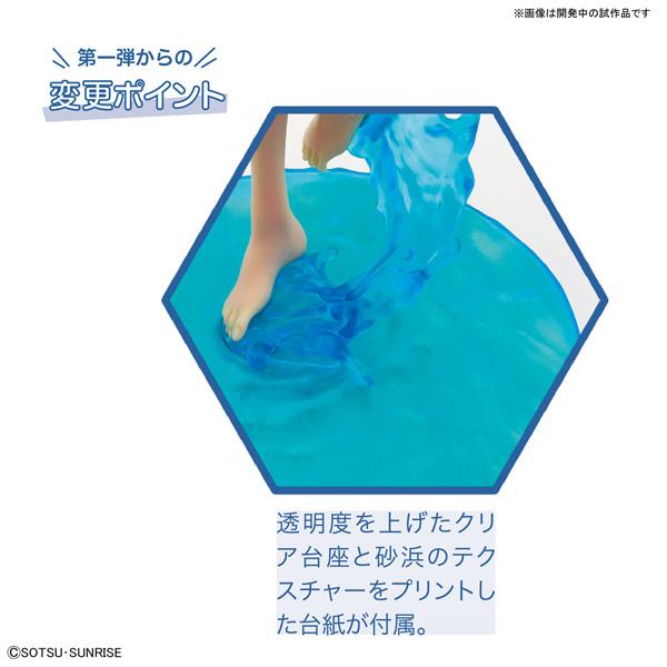 Figure-riseLABO ガンダムビルドファイターズトライ ホシノ・フミナ[The Second Scene] プラモデル_4