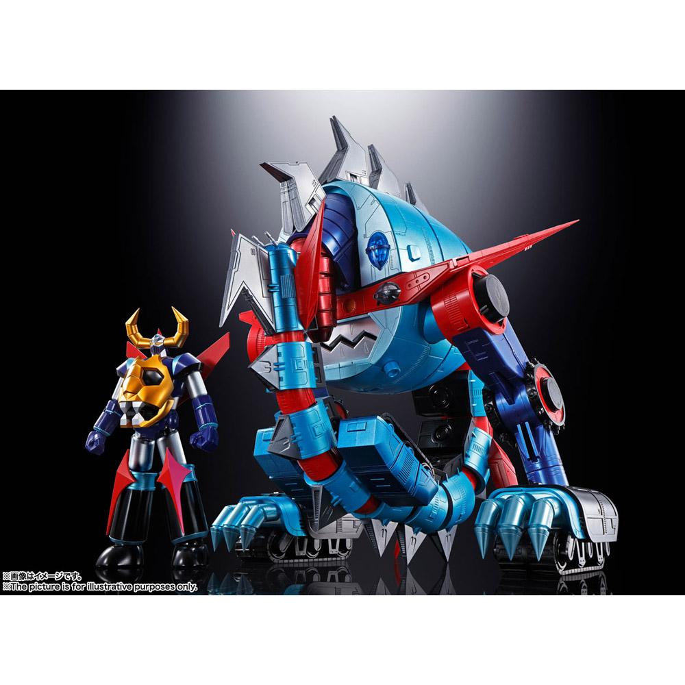 超合金魂 GX-100 大空魔竜ガイキング ガイキング&大空魔竜_1