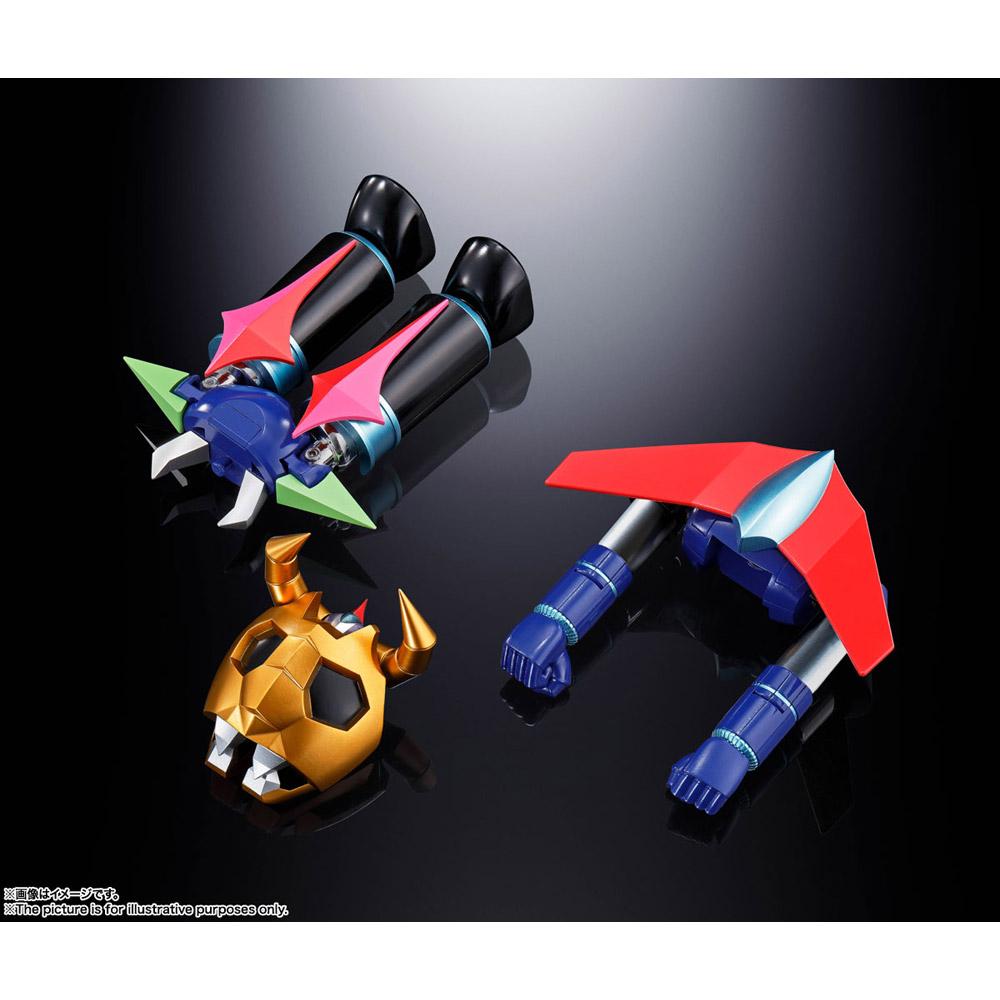 超合金魂 GX-100 大空魔竜ガイキング ガイキング&大空魔竜_2