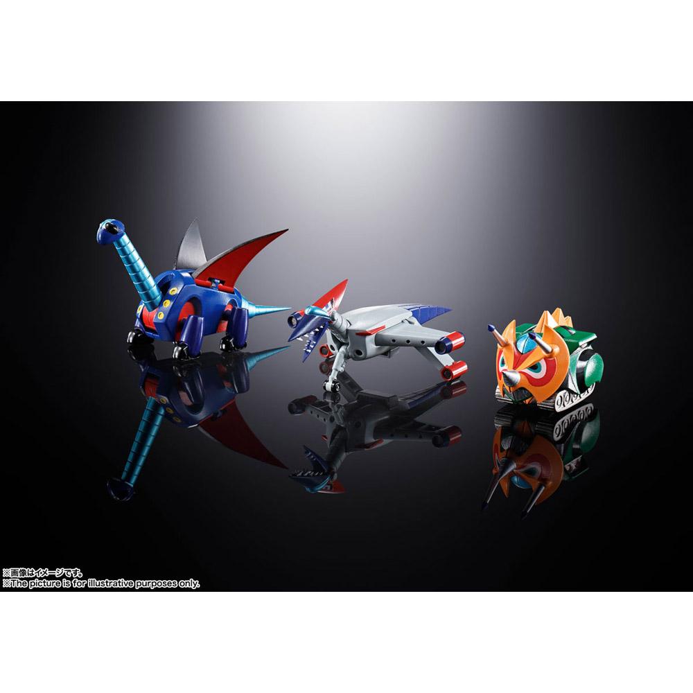 超合金魂 GX-100 大空魔竜ガイキング ガイキング&大空魔竜_5