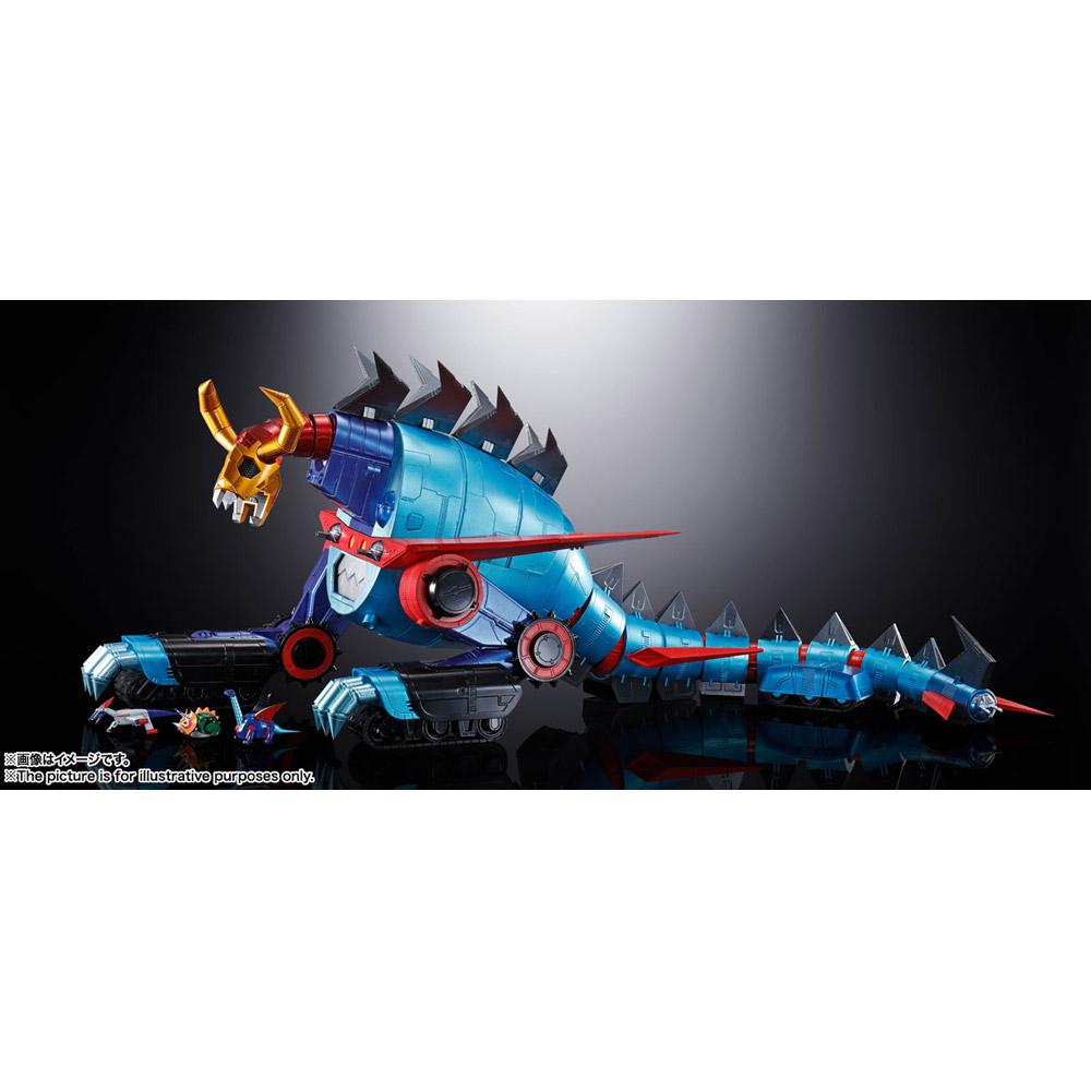 超合金魂 GX-100 大空魔竜ガイキング ガイキング&大空魔竜_8