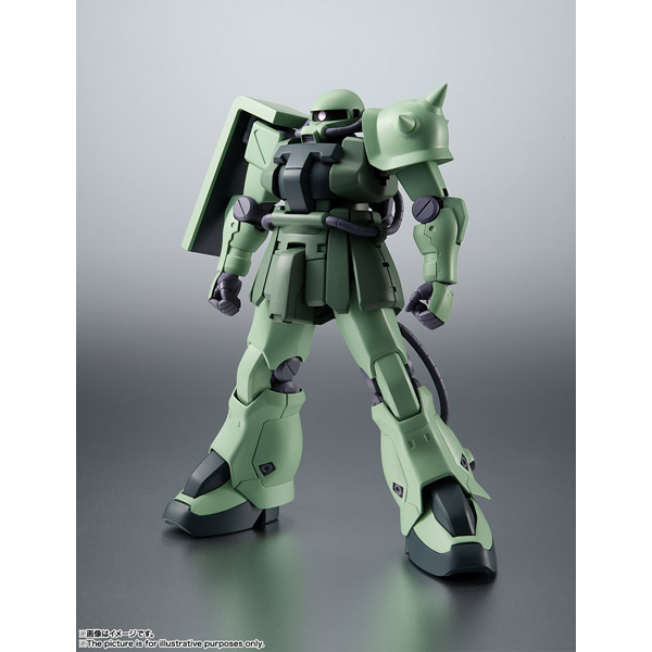ROBOT魂 (SIDE MS) MS-06F-2 ザクIIF2型 ver. A.N.I.M.E.(機動戦士ガンダム0083 STARDUST MEMORY)_1